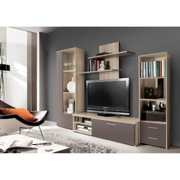 finlandek meuble tv mural pysy 230 4cm coloris finlandek salle a manger pickture. Black Bedroom Furniture Sets. Home Design Ideas
