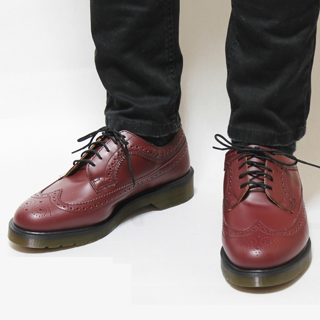 c856c5bae8ea Dr Martens 3989 Shoe CHERRY RED SMOOTH - Dr Martens - Pickture
