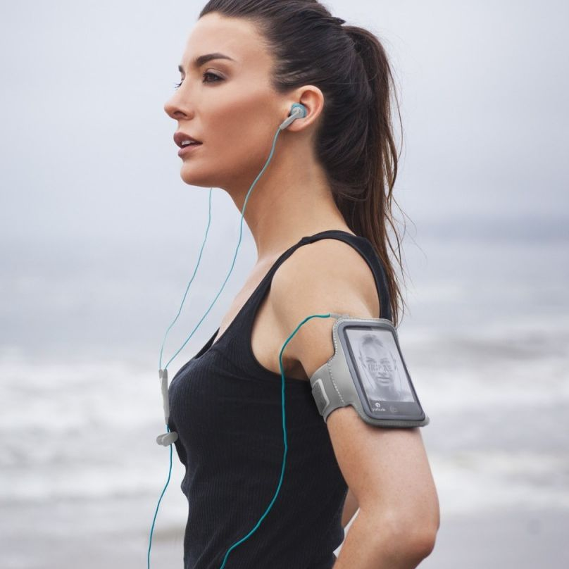 "Available in either Android or Apple three-button remote/mic configurations, this Sennheiser model is designed to be sweat-proof, and like many workout headphones we looked at, also features ""antimicrobial"" ear tips, so even if your workout gets nasty, your headphones shouldn't."