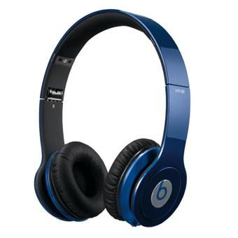 casque beats by dr dre solo hd metallic blue beats. Black Bedroom Furniture Sets. Home Design Ideas