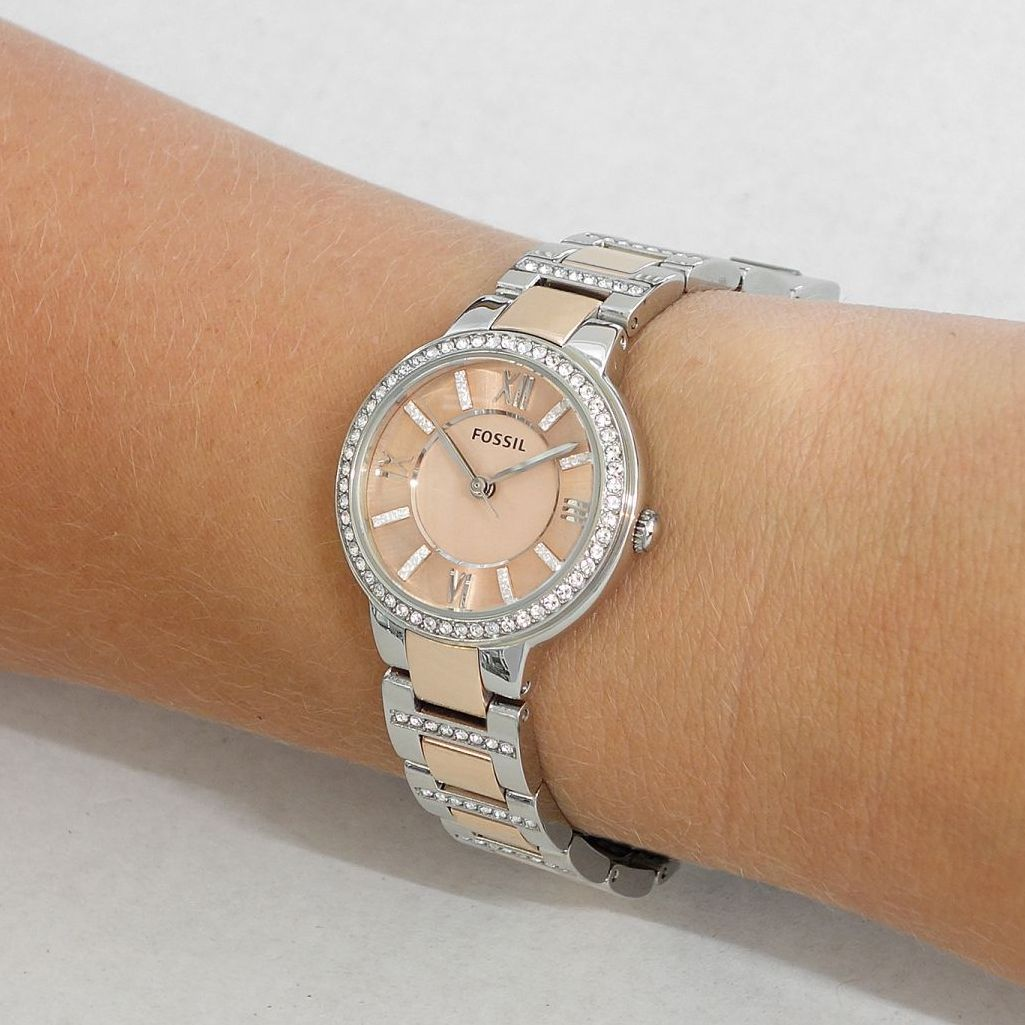 Fossil watches for women virginia black