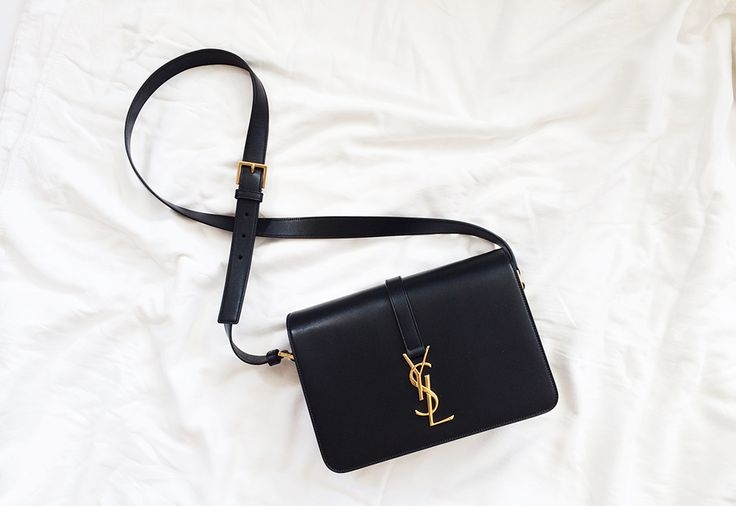 Sac for women - yves saint laurent - sac en cuir monogramme ...