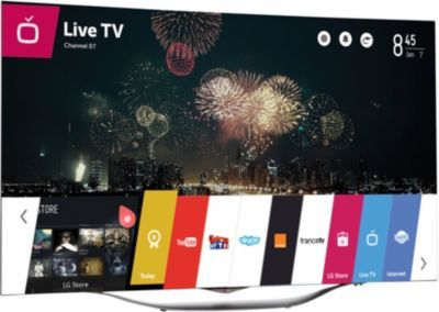 tv oled lg 55ec930v oled incurv lg pickture. Black Bedroom Furniture Sets. Home Design Ideas