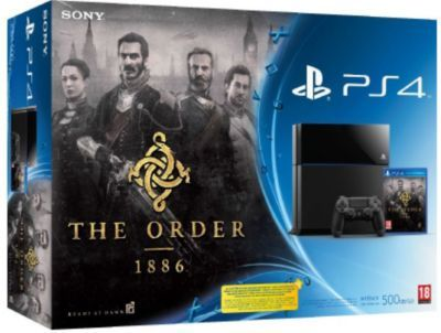 console ps4 sony ps4 500go the order 1886 sony. Black Bedroom Furniture Sets. Home Design Ideas