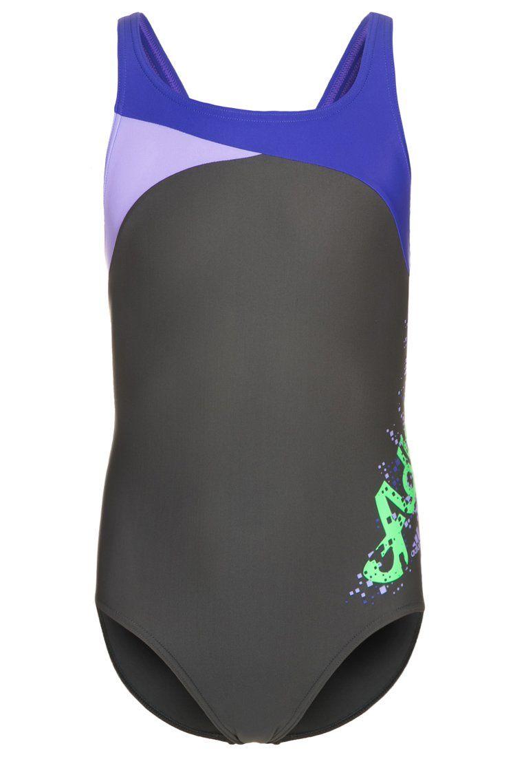 adidas performance maillot de bain dark grey adidas pickture. Black Bedroom Furniture Sets. Home Design Ideas