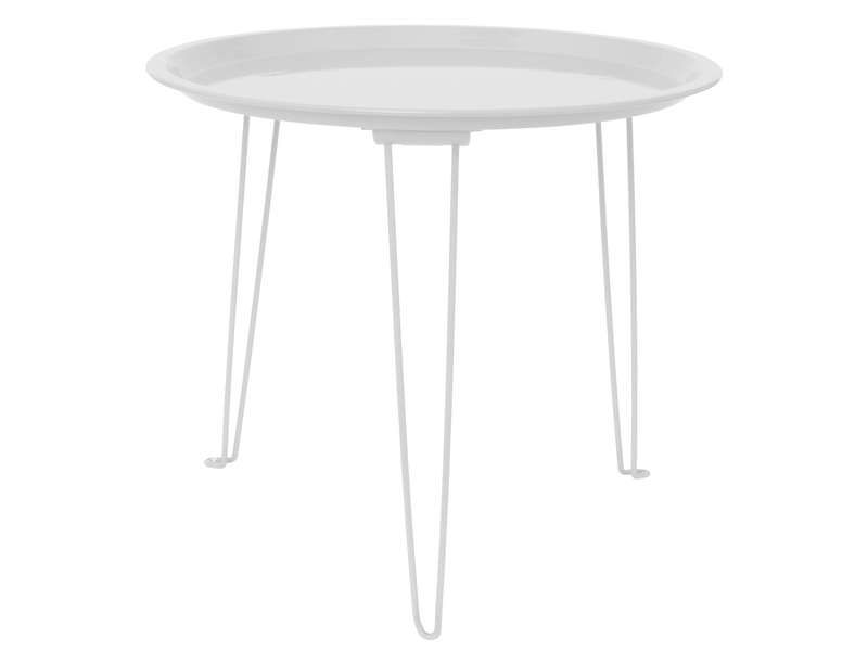 Table d 39 appoint coloris blanc conforama pickture - Conforama table d appoint ...
