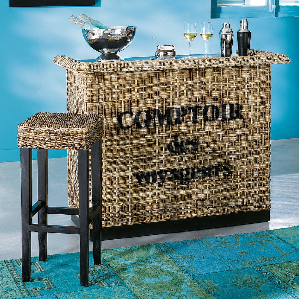 25 Mini Home Bar And Portable Bar Designs Offering: Meuble De Bar ZANZIBAR