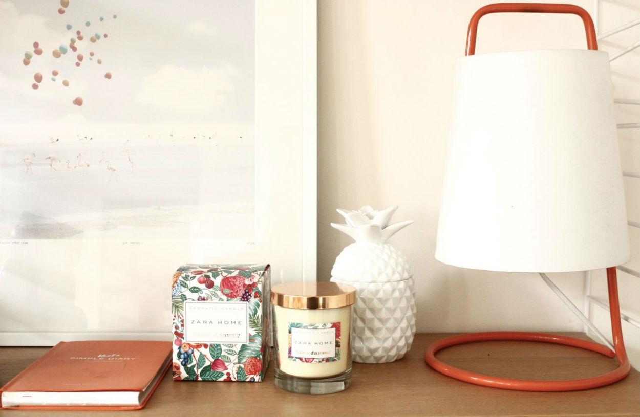 bougie ananas blanche h m pickture. Black Bedroom Furniture Sets. Home Design Ideas